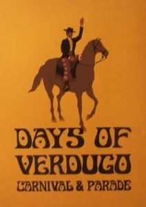 Days of Verdugo Carnival & Parade - 1969