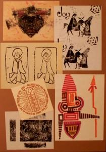 Designs and Linoleum Cuts
