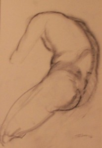 Male Nude Sketch