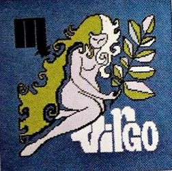 Virgo Design for Eric Green Zodic Needle Point